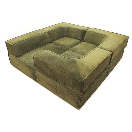 cor trio modular seating group designed by team form ag. Black Bedroom Furniture Sets. Home Design Ideas