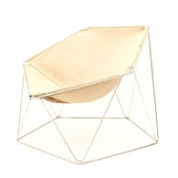 Penta chair designed by Jean-Paul Barray and Kim Moltzer for Wilhelm Bofinger, French Design