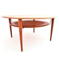 FD515 coffee table designed by Peter Hvidt and Orla Mølgaard-Nielsen for France & Søn, Danish Design
