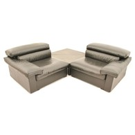 B&B Italia Erasmo modular sofa designed by Afra & Tobia Scarpa, Italian Design
