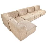 Arflex Novemila modular sofa designed by Tito Agnoli, Italian Design