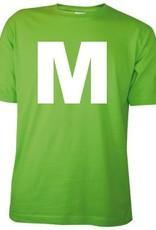 100% katoenen lichtgroene T-shirts in de maat L kopen?