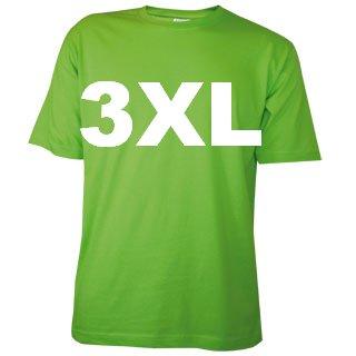 100% katoenen lichtgroene T-shirts in de maat 3XL kopen?