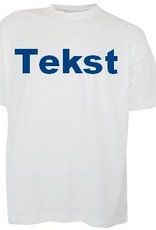 100% katoenen T-shirts met ronde hals en korte mouw