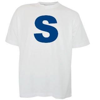 Katoenen witte T-shirts met bedrukking van een tekst kopen?