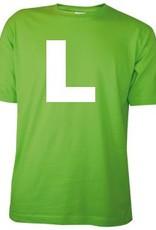 Lichtgroene T-shirts met bedrukking van een embleem kopen?