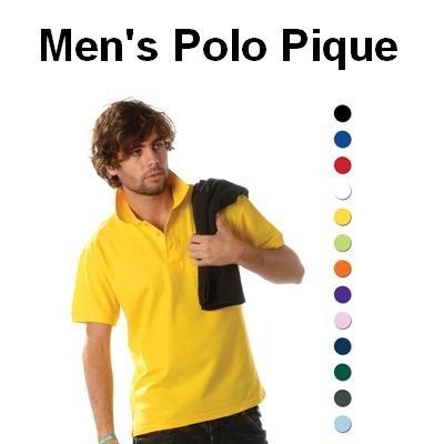 Katoenen heren poloshirts (Men's polo pique)
