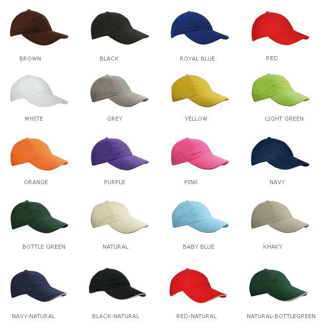 Baseballcaps voor kinderen in verschillende kleuren!