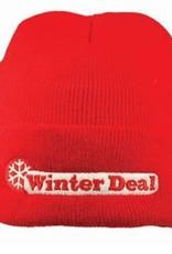 Goedkope witte winter mutsen met een borduring kopen?