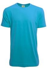 Heren T-shirts, extra lang, bodyfit (getailleerd)