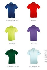 Poloshirts voor heren (Men's polo pique) in de kleur paars
