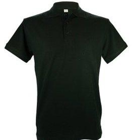 Poloshirts voor heren (Men's polo pique) in de kleur zwart