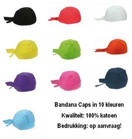 Goedkope Bandana's! Goedkope Bandana caps geschikt voor kinderen en volwassenen (100% katoen)