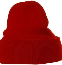 Warme gebreide winter mutsen in een trendy kleur (1 universele volwassen maat)