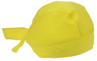 Bandana caps in de kleur geel kopen? Deze Bandana caps zijn geschikt voor kinderen en volwassenen!