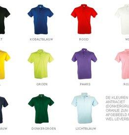 Uniseks Poloshirts voor dames en heren (100% katoen)
