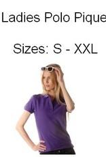 Drukkosten dames Poloshirts