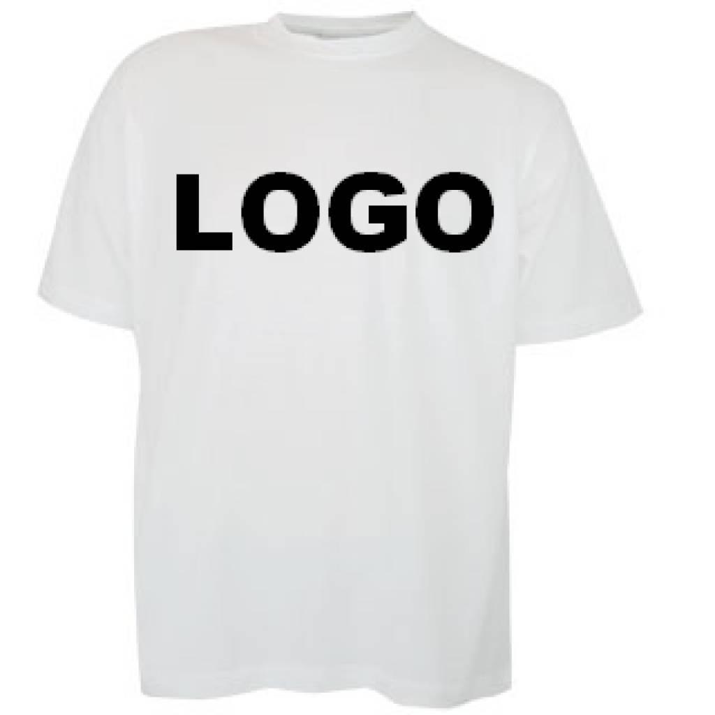 100% katoenen T-shirts met korte mouw en ronde hals (uniseks T-shirts)