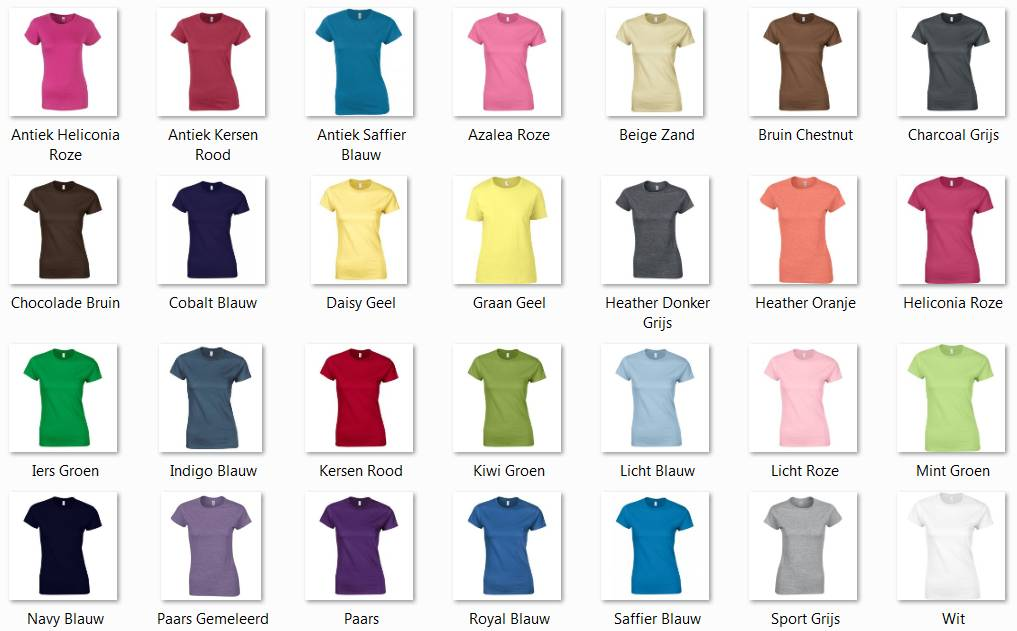 Goedkope dames T-shirts kopen