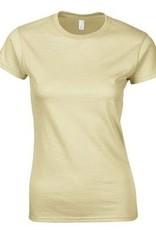 Dames T-shirts (slank gesneden, leverbaar in de maten S t/m XXL)