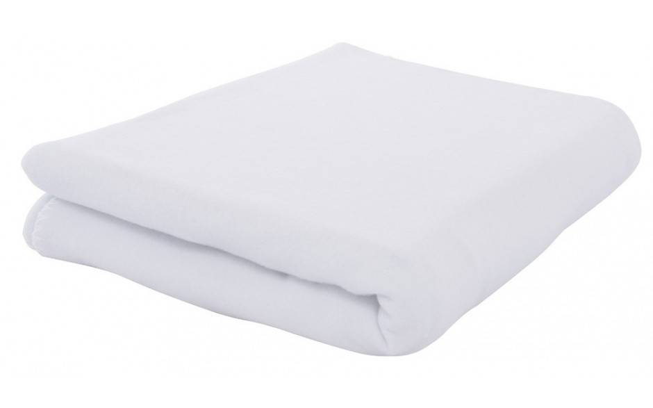 Plaid gemaakt van fleecestof (100% polyester, afmeting 120 x 150 cm)