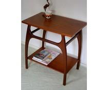 * VERKOCHT * Hele fraaie vintage design bijzet tafel (Webe?)