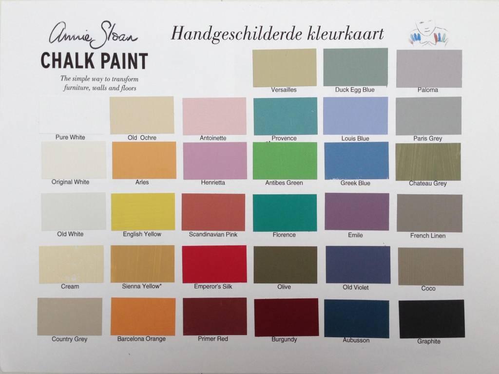 Annie sloan peinture la craie vintage and wood for Peinture de couleur