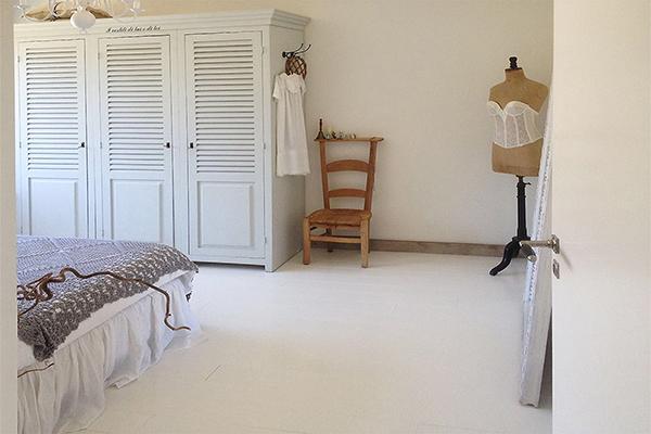 New Houten vloer wit verven | voorbeelden | verfadvies #DD59