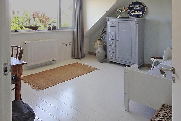 Magnifiek Houten vloer wit verven | voorbeelden | verfadvies @JX12