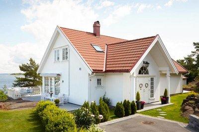 Houten huis wit schilderen verfadvies kleuren for Woning schilderen