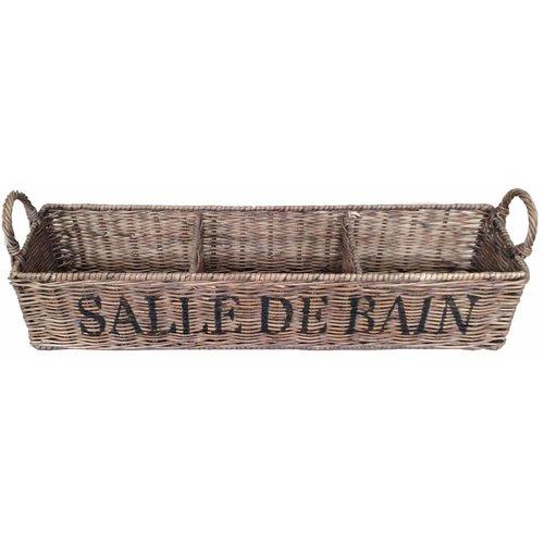 Sweet Living Bruine Rieten Badkamermand - Salle De Bain
