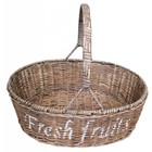 Sweet Living Rieten mand met hengsel - Fresh Fruits