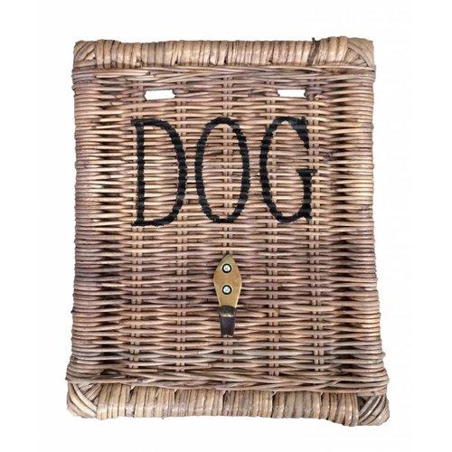 Sweet Living Rieten Hondenriemhanger - Dog