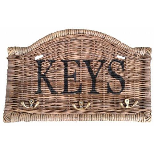 Sweet Living Rieten Sleutelrek - Keys