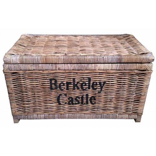 Sweet Living Grote Bruine Rieten Mand XL - Berkeley Castle