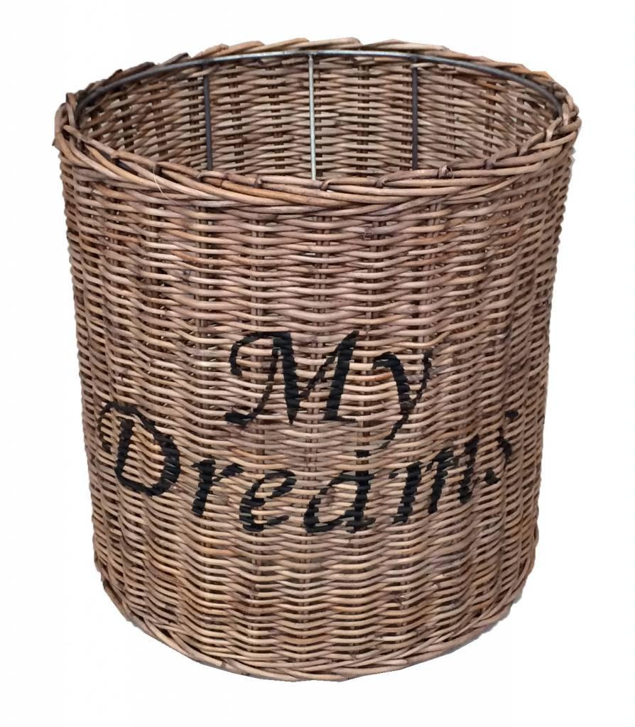 Sweet Living Ronde Rieten Hanglampenkap - My Dreams