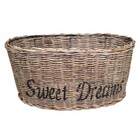 Sweet Living Ovalen Rieten Lampenkap - Sweet Dreams zwart