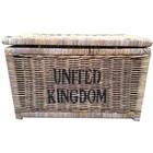 Sweet Living Grote Bruine Rieten Mand XL - United Kingdom