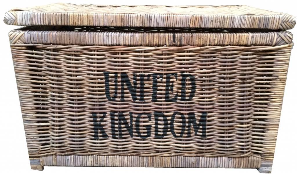 Eetkamer eetkamerstoelen riviera maison : Sweet Living Grote Bruine Rieten Mand XL - United Kingdom - Sweet ...