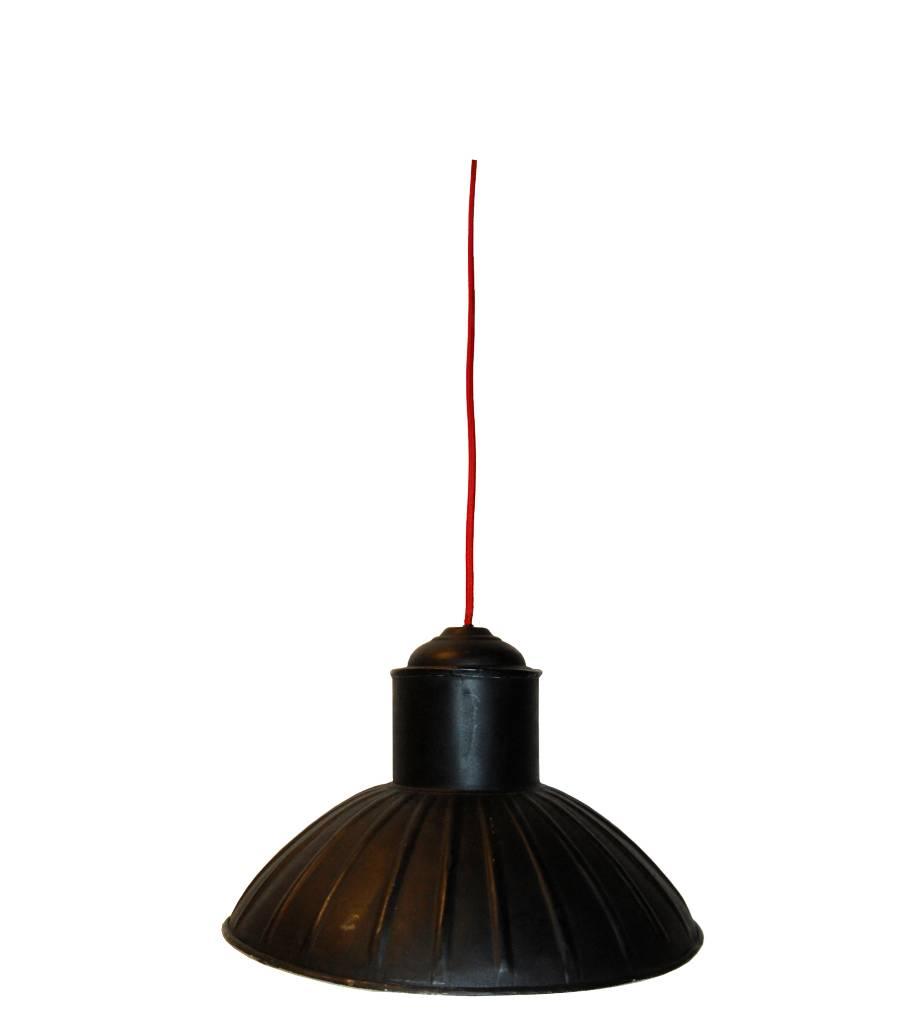 Trademark Living Hanglamp Zwart/Crème - Ø38 cm