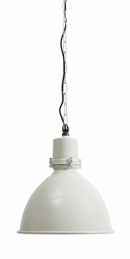 Witte hanglamp Factory - Nordal