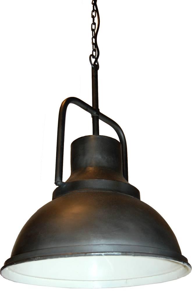 Zwarte Industriële Hanglamp - Trademark Living