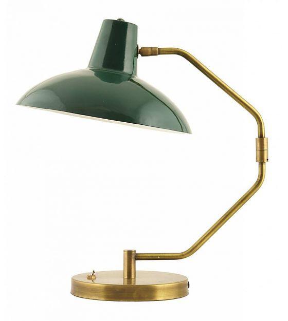 Bureaulamp Desk Groen/Goud - House Doctor