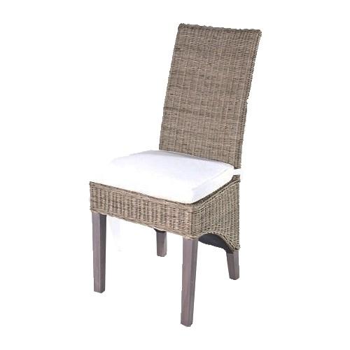 rieten stoel hook wit kussen deze bruine rieten stoel hook heeft een ...