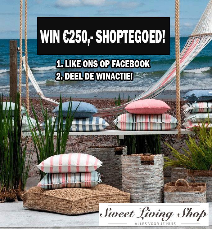 Win 250 euro shoptegoed!!