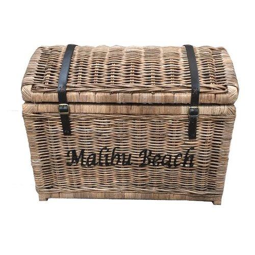 Sweet Living Grote Rieten Schatkist XL - Malibu Beach