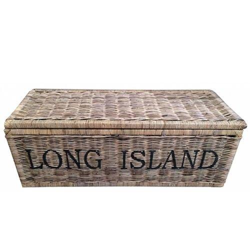 Sweet Living Grote Bruine Rieten Mand XL - Long Island