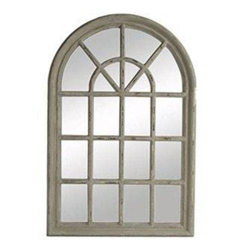 Countryfield Spiegel met frame grijs - 60,2x90,2x3,3 cm