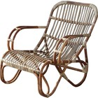Sweet Living Naturel rotan loungestoel - Mahakan