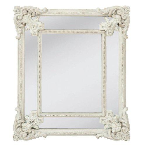 Clayre & Eef Wandspiegel vierkant - 55x65 cm